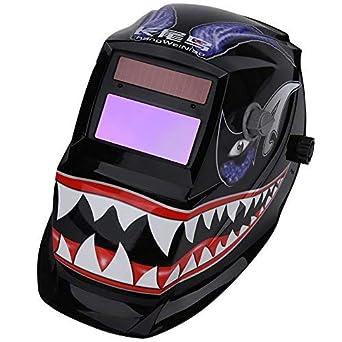 1 UNID Casco de Soldadura Solar Oscurecimiento Automático Casco de Soldadura Arc Tig Mig Máscara de Soldadura Máscara: Amazon.es: Industria, ...