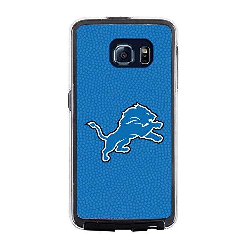 NFL Detroit Lions Football Pebble Grain Feel No Wordmark Samsung Galaxy S6 Case, Team Color by Game Wear, Inc.