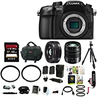 Panasonic LUMIX DMC-GH4K 16MP Mirrorless Digital Camera (Body Only) with Vario 14-140mm Lens & Focus Accessory Bundle