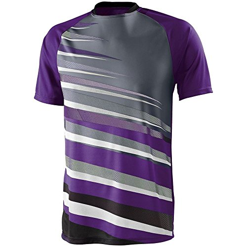 High Five Adult Galactic Jersey,Purple/Black/Graphite,Medium ()