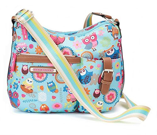 Lily Bloom Kathyrn Convertible Hobo Crossbody Bag, Owl Always Love You