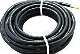 Black 3/8'x50' GoodYear/Continental Rubber Hose Air Tool Compressor Grease USA