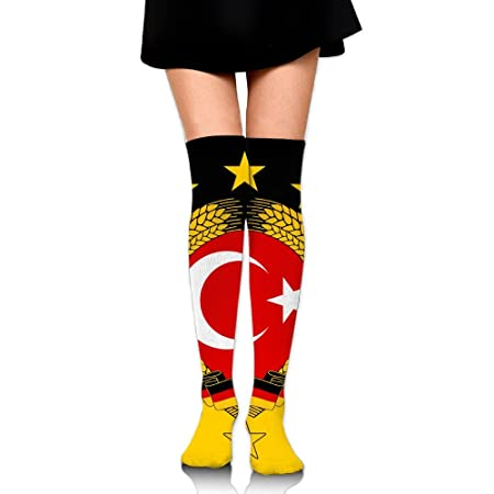 RobotDayUpUP Turquía Solemn Bandera Calcetines Largos Calcetines ...