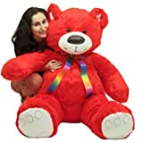 Big teddy red customize 60 inches