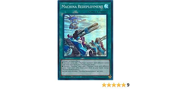 YUGIOH! Machina Redeployment SR10-EN023 Super Rare 1st! Near Mint