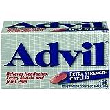 Advil Extra Strength 400mg 165 Caplets