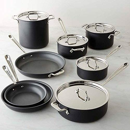 All Clad Nonstick Induction 13 Piece Cookware
