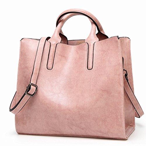 Lavoro color Tracolla A Klerokoh Da Per Donna Pattern Spalla Borsa Pink Litchi 88qxwnY