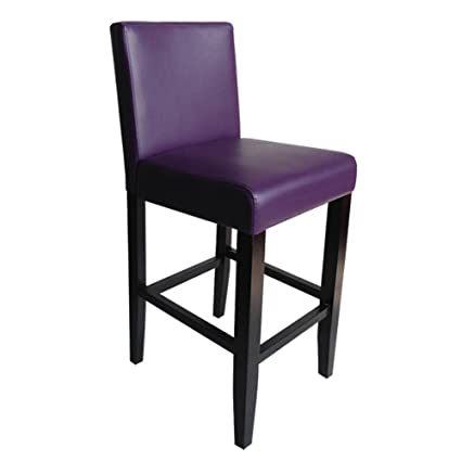 Awesome Monsoon Pacific 222216 Villa Faux Leather Counter Stool 2 Set Boysenberry Andrewgaddart Wooden Chair Designs For Living Room Andrewgaddartcom