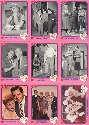 I LOVE LUCY 1991 PACIFIC PINK BORDER COMPLETE BASE CARD SET OF 110 -