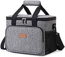 Lifewit Cooler Bag Shopping Bag Soft Insulated Picnic Family Cool Bag, Thermal Lunch Bag Cooling Bag for Work Beach...
