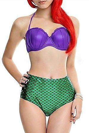Disfraz de sirenita Ariel remolque traje de tamaño 8 - 10 ...