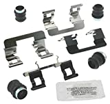 #10: ACDelco 18K1746X Professional Front Disc Brake Caliper Hardware Kit with Clips, Seals, and Lubricant