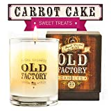 Old Factory Scented Candles - Carrot Cake - Decorative Aromatherapy - 11-Ounce Soy Candle - from Candles