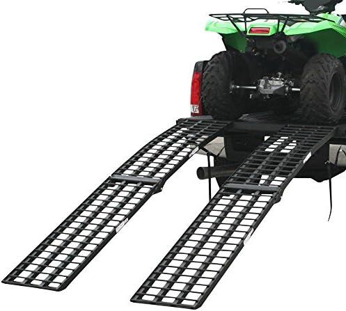 Black Widow BW-10817-HD-2 108 Extra Wide Off-Road ATV Loading Ramp ...