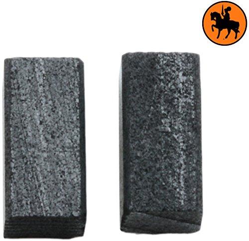 Balais de Charbon Buildalot Specialty ca-00-41681 pour Black & Decker Ponceuse KA230E - 5x5x10mm - Remplace les pièces d'origine 736703 & 736703