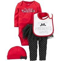 Girls' 4-Piecemy First Christmas Set