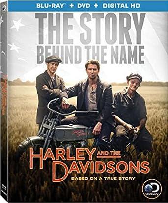 Amazon Com Harley And The Davidsons Blu Ray Dvd Digital Hd