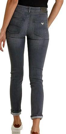 c07f31b4 Armani Jeans Dahlia J18 Comfort Fabric Washed Black Jeans - Black ...