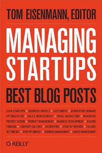 Managing Startups: Best Blog Posts (Best Venture Capital Blogs)