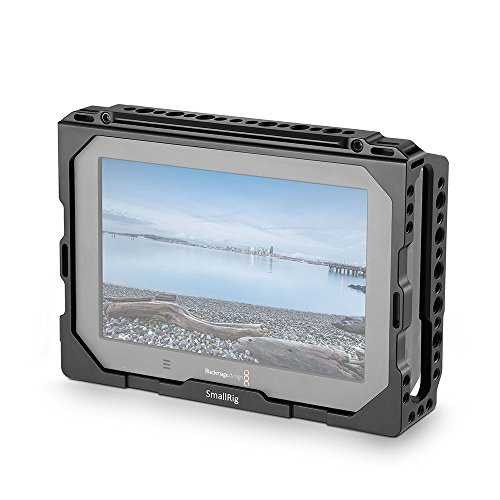 SmallRig Monitor Cage with NATO Rail for Blackmagic Design Video Assist 7'' Monitor - 1830 by SmallRig
