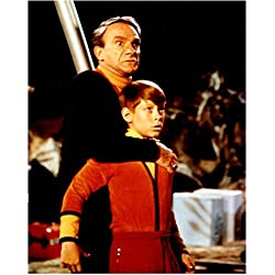 Lost in Space (1965) 8 x 10 Photo Jonathan Harris Hiding Behind Billy Mumy kn