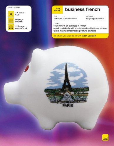 Teach Yourself Business French (3CDs+ Guide) (Teach Yourself Language) by McGraw-Hill