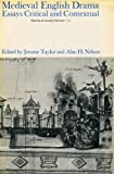 img - for Mediaeval English Drama: Essays, Critical and Contextual (Patterns of Literary Critical) book / textbook / text book