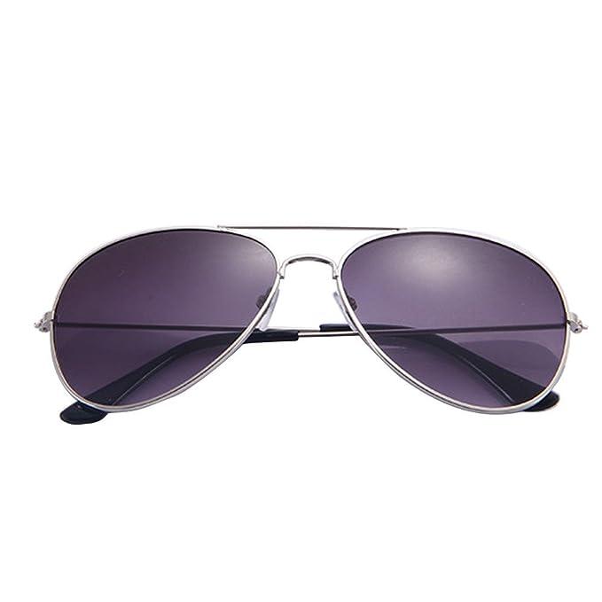 XuanhaFU - Moda Gafas de Sol de Aviador Gafas de Sol Gafas ...