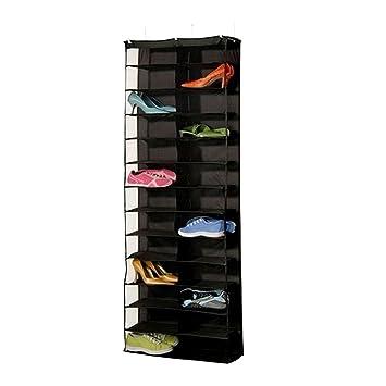 e893d9bf9ac Amazon.com  HOBULL 26 Pockets Shoe Holder Closet Storage Bag Hanging ...