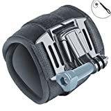 Adjustable Wrist , Hand , Glove Compact Camera Mount with 2-point Neoprene Strap