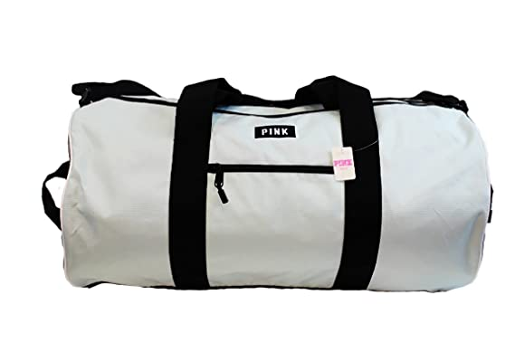 f0c4103b7232 Image Unavailable. Image not available for. Color  Victorias Secret PINK  Mint Green Marl Weekender Gym Duffle Bag ...