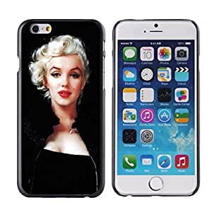 """H&F Marilyn Monroe the most popular Personalized Hard Plastic Back Protective Case for iPhone 6 4.7"""""""""""