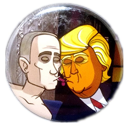 Button Love Pinback (Can Customized Political Satire Pin 1.73