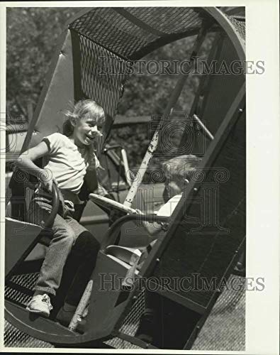1988 Press Photo Theme Park ride at Toad Hollow Days in South Onondaga (Best Theme Park Ride Photos)