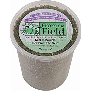 From The Field Ultimate Blend Silver Vine/Catnip Mix Tub, 3.5 oz/Large 75