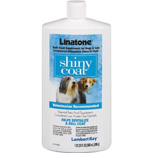 Lambert Kay Linatone Shiny Coat Food Supplement for Dogs (16 oz.)