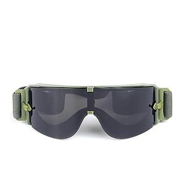 Leo565Tom Gafas Gafas Militares Equipment CS Gafas tácticas Off-Road Goggles Gafas Militares Airsoft Gafas