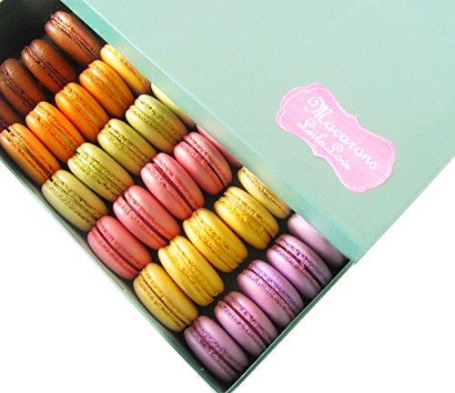 LeilaLove Macarons 20 pieces dozen flavors - baked to order