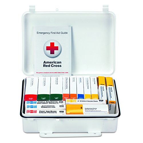 Pac-Kit by First Aid Only 90569 16 Unit ANSI A First Aid Kit, Plastic, Weatherproof