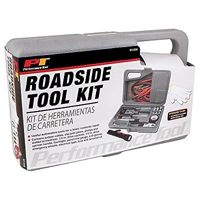 Performance Tool W1556 Commuter Emergency Roadside Safety Tool Kit: Automotive