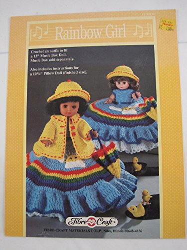 Rainbow Girl: Crochet an Outfit to Fit Either a 13