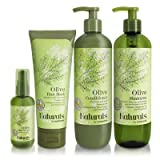 Naturals by Watsons Olive Hair Treatment Paraben-free formula, Aloe Vera Extract and Vitamin B5 helps to boost the moisture level of Hair and Scalp Set (4Pcs in Set)