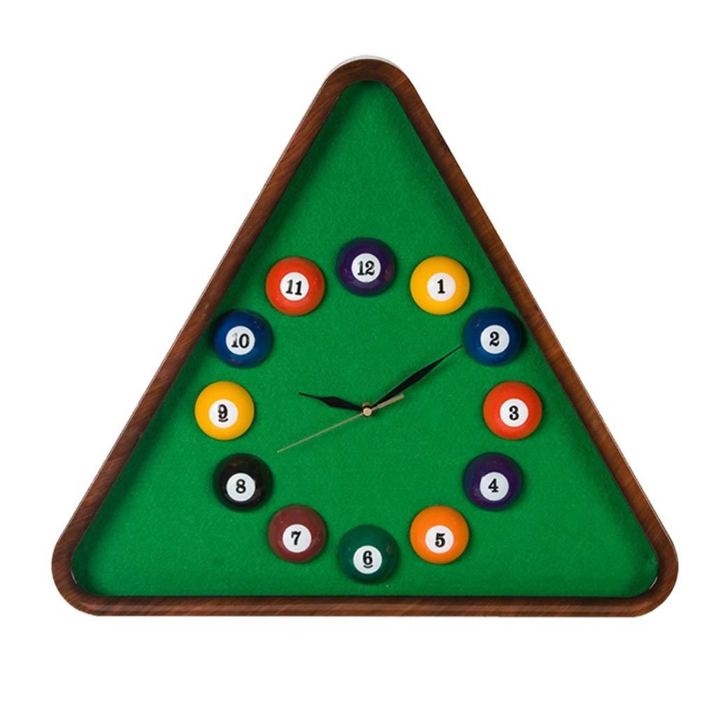 ビリヤード壁掛け時計ビリヤードクリエイティブ時計人格ファッション現代子供部屋ミュート壁掛け時計クォーツ時計 SHWSM B07TKQQ6K1