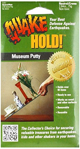 Price comparison product image Quake Hold 88111 2.64 Oz Quake Hold™ Museum Putty