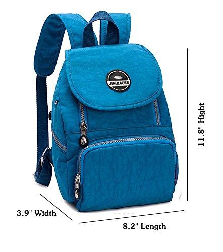 Waterproof Bags Sky Nylon girls Womens Blue Schoolbag Mini Backpack Daypacks Rucksacks LifeWheel YR7EwqR