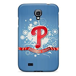JLg1082blCw Tpu Case Skin Protector For Galaxy S4 Philadelphia Phillies Logo With Nice Appearance