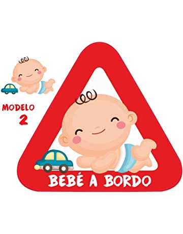 Amazon.es: Pegatinas de bebé para coches - Accesorios: Bebé