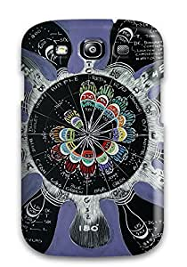 New XRDAcbe3491JimIc Music Art Skin Case Cover Shatterproof Case For Galaxy S3