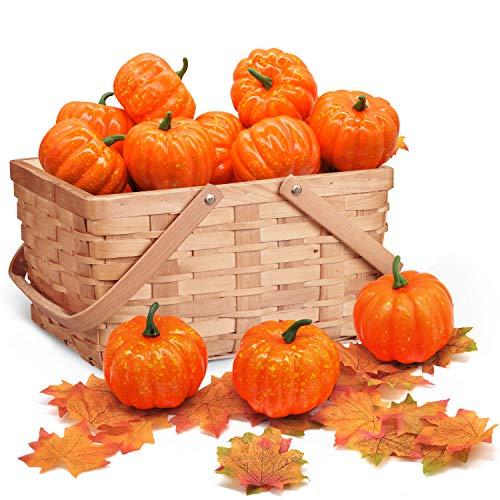 JOYIN Thanksgiving Artificial Pumpkins Home